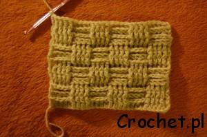 Basket weave stitch – wzór
