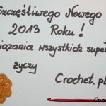 Szczęśliwego Nowego 2013 Roku !!!