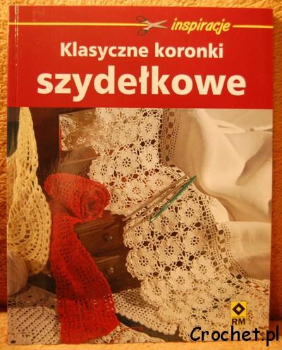 klasyczne koronki szydełkowe - okładka