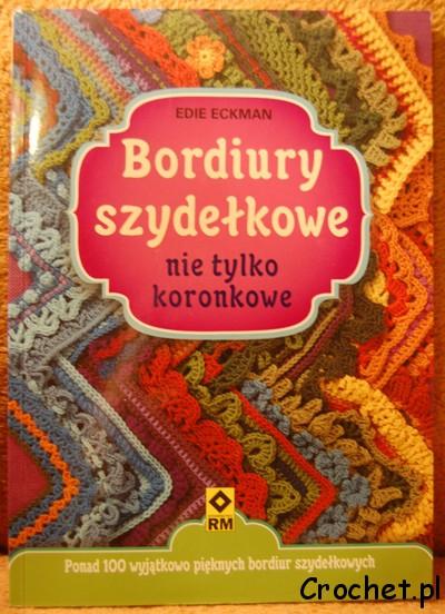 Bordiury szydełkowe - książka