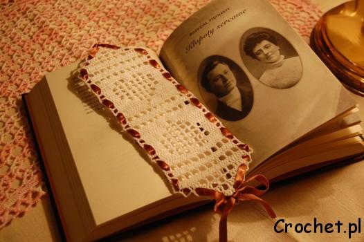 Walentynkowa zakładka do książki