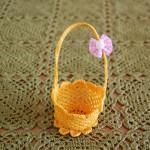 Wielkanocny koszyczek w wersji mini