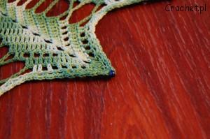Serwetka na szydełku w kształcie gwiazdki