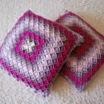 Poduszki bavarian crochet