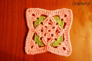 diamond granny square