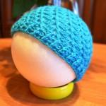 Szydełkowa czapeczka dla noworodka