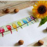 Papugi skończone – haft krzyżykowy – Bothy threads