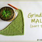 Projekt chusty Grinda MAL autorstwa Lillabjorncrochet