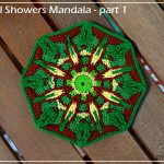 April Showers Mandala – part 1