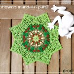 April Showers Mandala – part 2