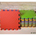 Blokowanie szydełkowych robótek – puzzle piankowe